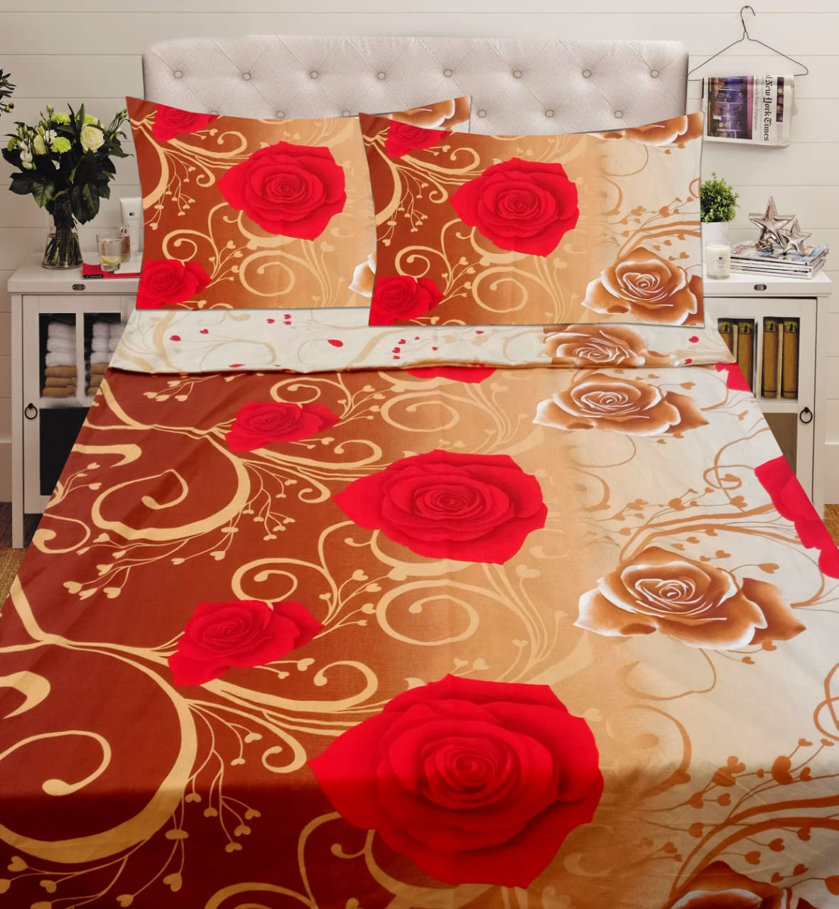 Cotton Bed Sheet ...
